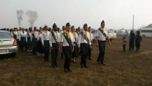 Rooikat Klub (Pietersburg) tydens die parade