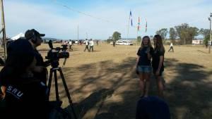 Ivanna en Netania verskyn op televisie