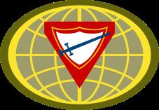 Baanbreker Wereld Logo 6cm
