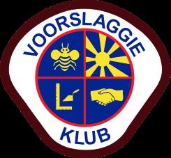 Voorslaggie Logo V 6cm